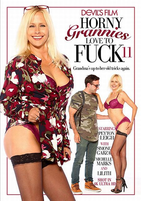 Horny Grannies Love To Fuck 11 / Горячие Бабульки Любят Трахаться 11 [2017]