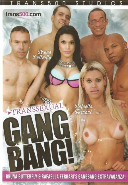 Transsexual Gangbang ! / Транссексуальная Групповуха ! [2016]