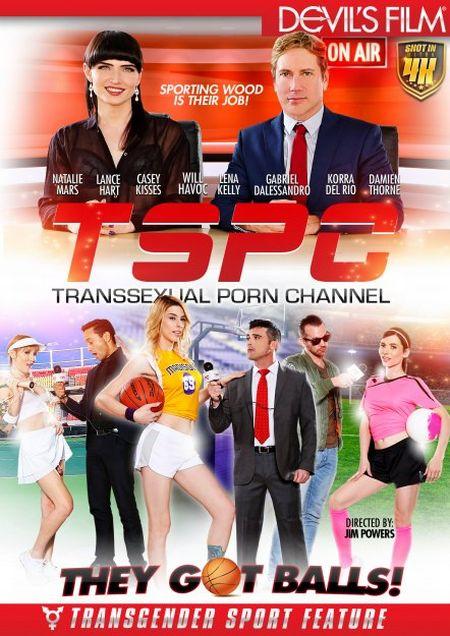 TSPC - Transsexual Porn Channel / Транссексуальный Порно Канал [2018]