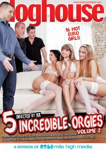 5 Incredible Orgies 2 / 5 Невероятных Оргий 2 [2015]