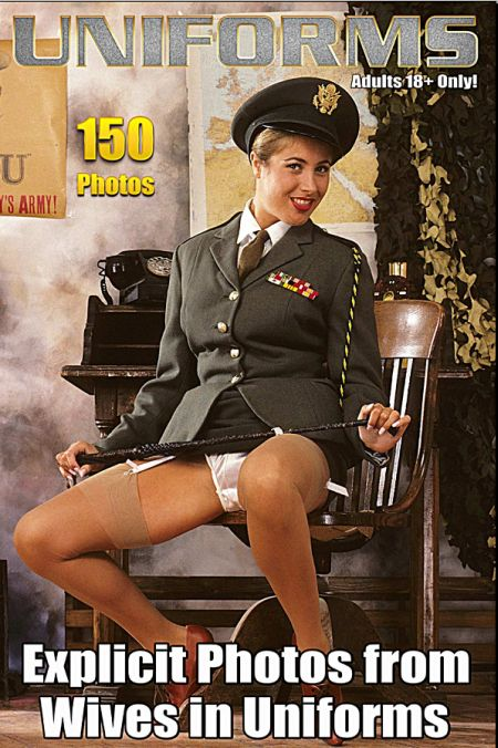 Sexy Uniform MILFs in Nylons Adult Photo Magazine - Issue 8 (2018)