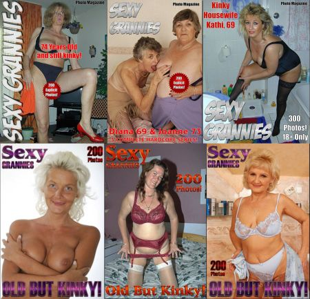 Sexy Grannies Adult Photo Magazine