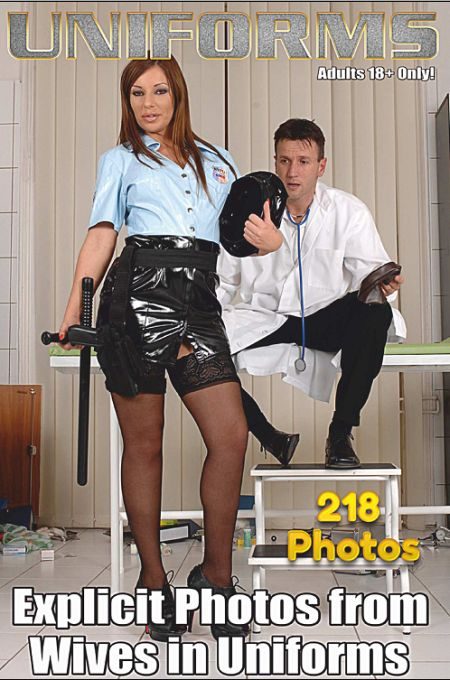 Sexy Uniform MILFs in Nylons Adult Photo Magazine - Issue 9 (2018)