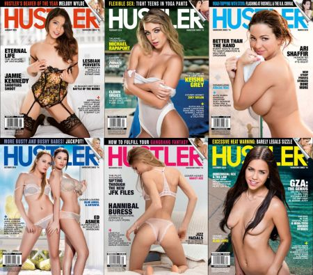 Hustler № 1-12 (January - December 2018)