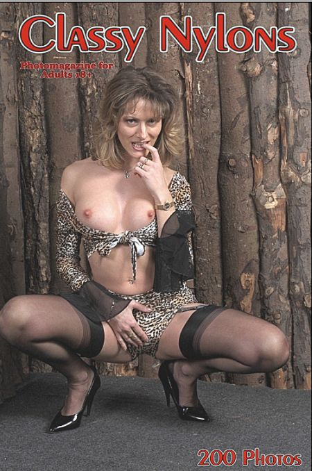 Classy Nylons Adult Photo Magazine - Issue 17 2018