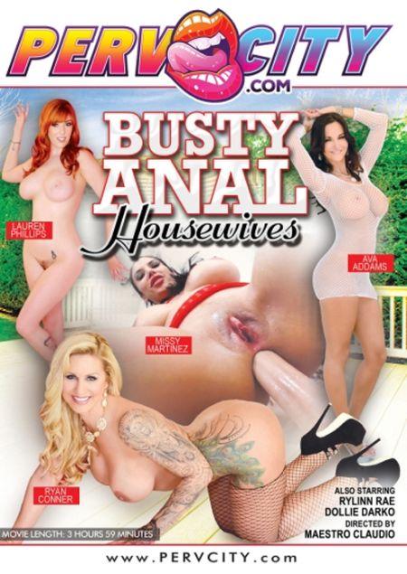 Busty Anal Housewives / Сисястые Анальные Домохозяйки [2018]