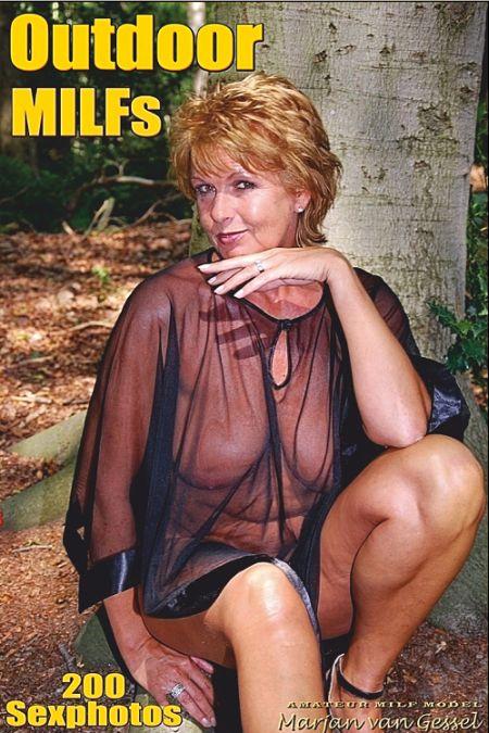 Sexy Outdoor MILFs Adult Photo Magazine - Volume 28 (2019)