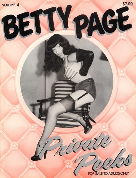 Betty Page Private Peeks - Volume 4 (1980)
