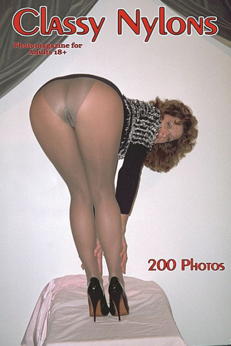 Classy Nylons Adult Photo Magazine - Issue 20 2019