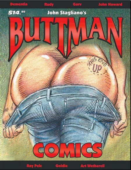 Buttman Comics - Issue 1