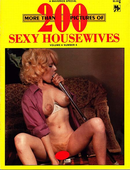 More than 200 pictures of Sexy Housewives Volume 4 No.4 (Spring  1978)