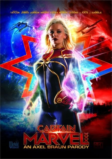 Captain Marvel XXX: An Axel Braun Parody / Капитан Марвел: XXX Пародия (2019)