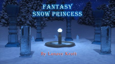 Fantasy Snow Princess
