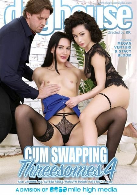 Cum Swapping Threesomes 4 / Обмен Спермой Втроём 4 (2020)
