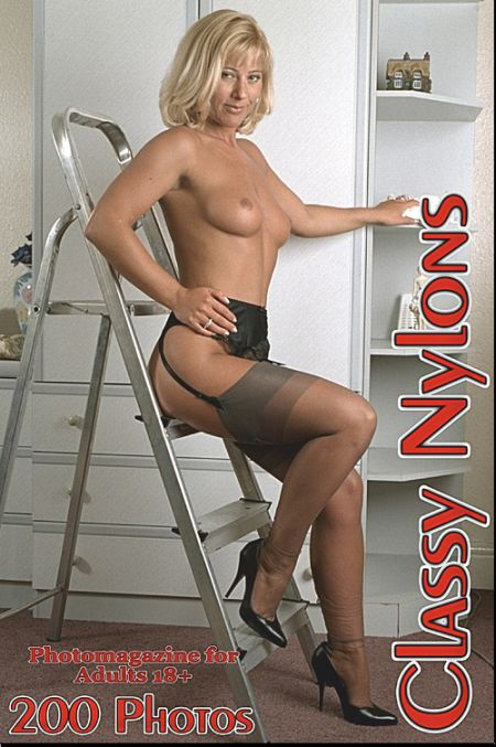 Classy Nylons Adult Photo Magazine - Issue 35 2020