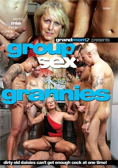Group Sex Grannies / Групповые Секс-Грани (2019)