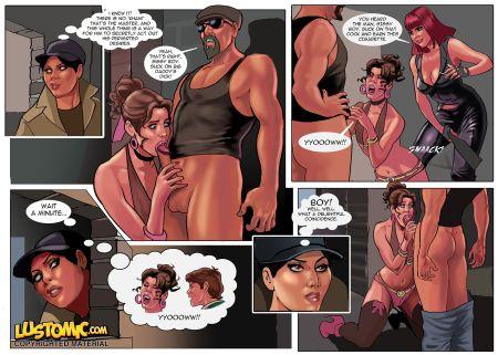 Сборник комиксов от Lustomic. Часть 15