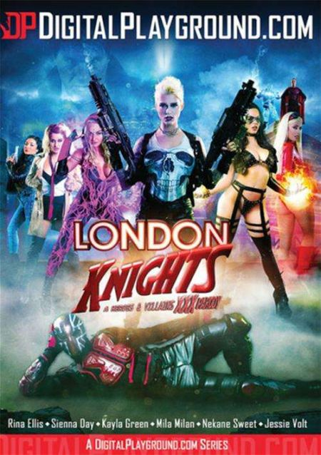 London Knights: A Heroes and Villains XXX Parody / Рыцари Лондона: Герои и Злодеи XXX Породия [2016]