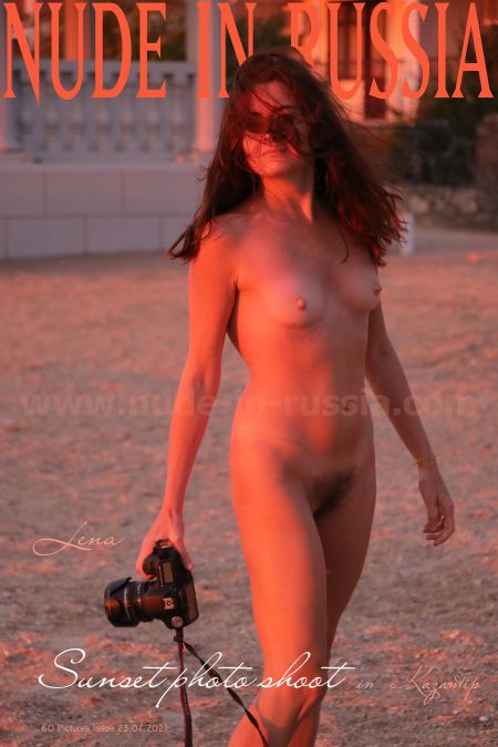 Lena W, Katja P - Sunset photo shoot
